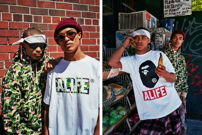 A Bathing Ape x ALIFE Spring/Summer 2015 Collection