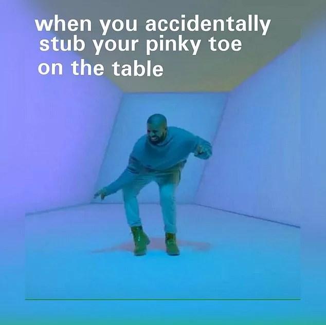 """Drake's Awkward """"Hotline Bling"""" Dance Inspires a World of Memes"""