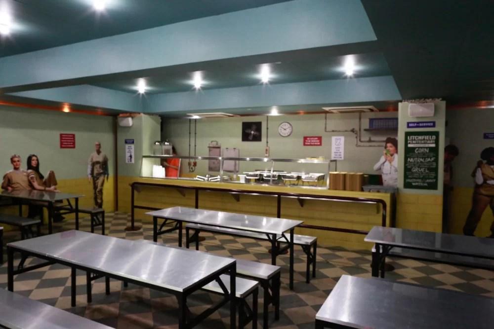 OITNB season 4 premiere Singapore: Litchfield Penitentiary Cafeteria