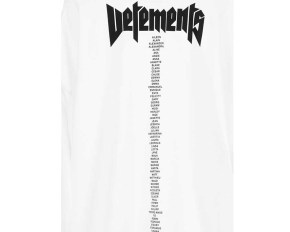 Vetements is Producing Its Own Tour Merch