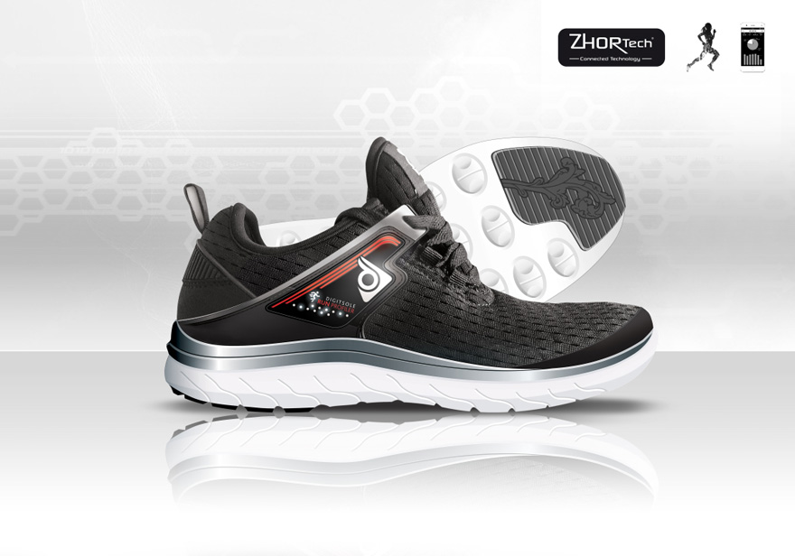 Running Shoes with Adaptive Cushioning Unveiled at CES 2017