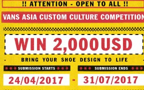 Vans Asia Custom Sneaker Competition