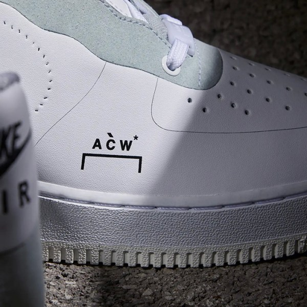 Rumored Fall release for A-COLD-WALL x Nike Air Force 1 Low have been leaked
