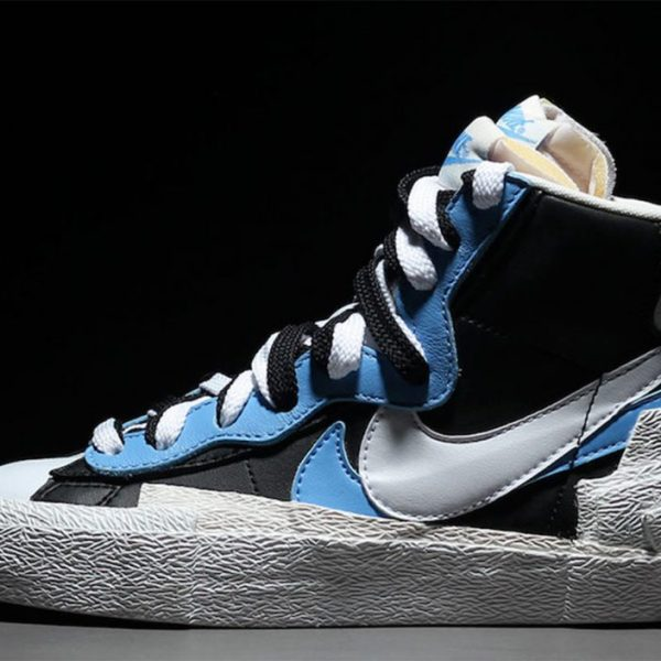 I'll take two of everything! Sacai's Nike Blazer collaboration is all about seeing double