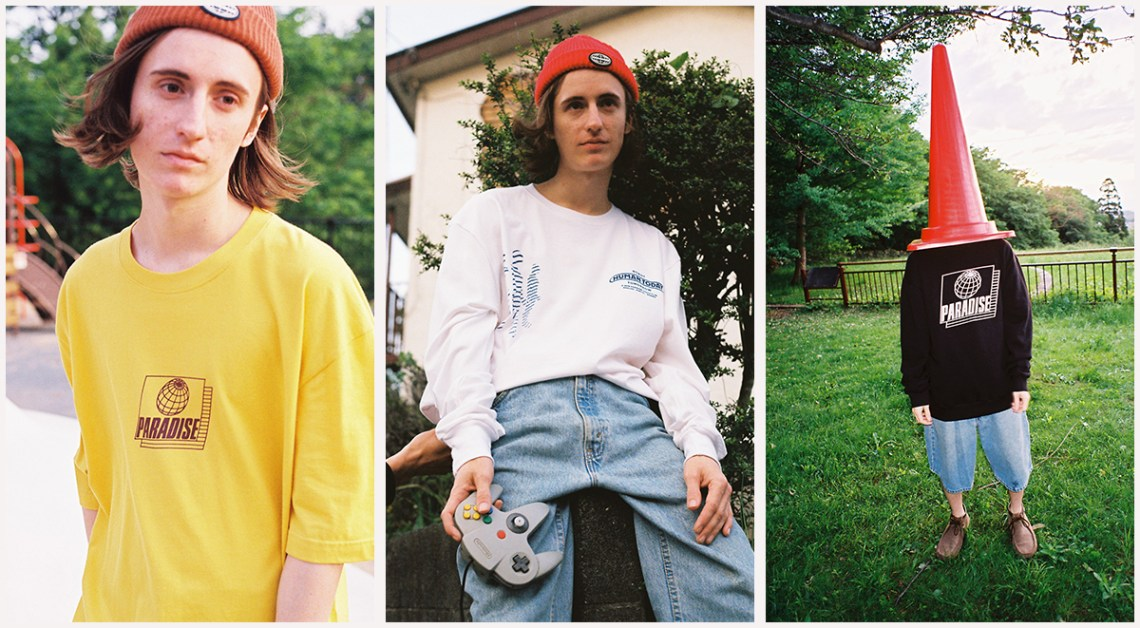 Paradise Youth Club Enigma Collection lookbook