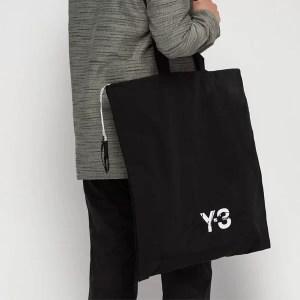 essential travel items Y-3 tote