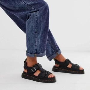 essential travel items dr martens hayden sandals