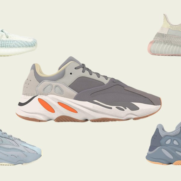 "A first look at the Yeezy Boost 700 ""Magnet"" and ""Teal Blue"""