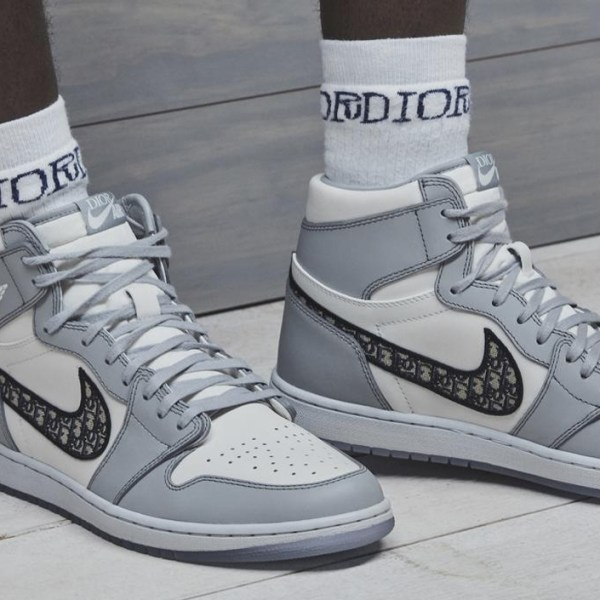 #AirDior – the Air Jordan 1 High OG Dior is the next big crossover between luxury and streetwear
