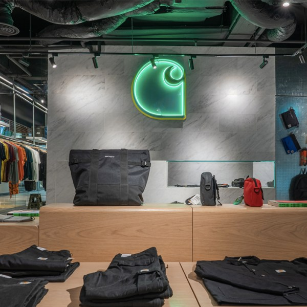Finally, there's a Carhartt WIP standalone store in Singapore once again