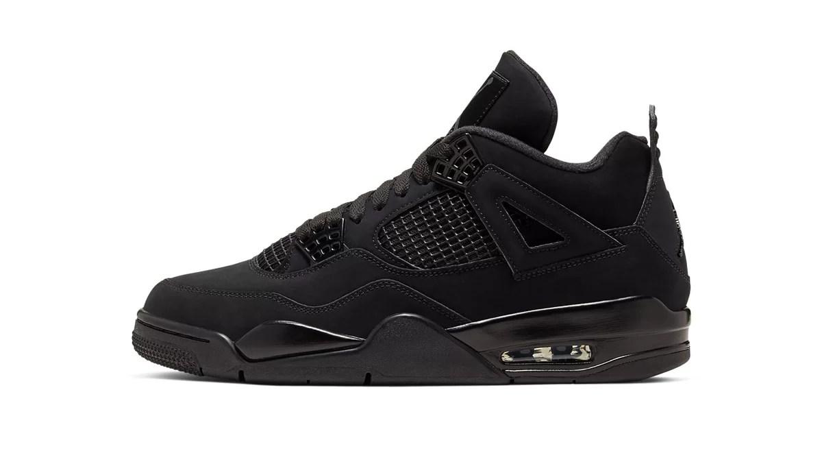 """Air Jordan 4 """"Black Cat"""" Is Making A"""