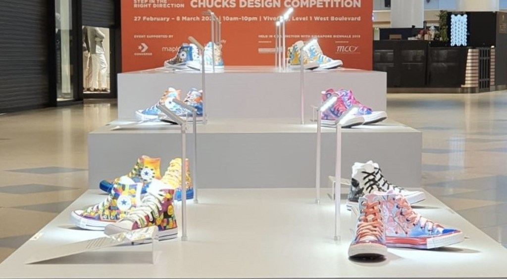SB2019 x Converse Vivocity display