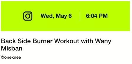 Nike Community Workout May 6