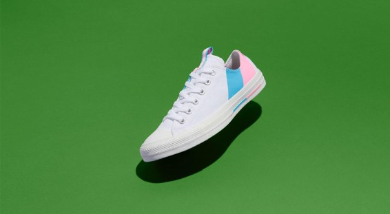 Nike and Converse Pride collection converse chuck 70 low green