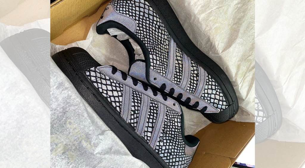 Atmos x Adidas Superstar in box