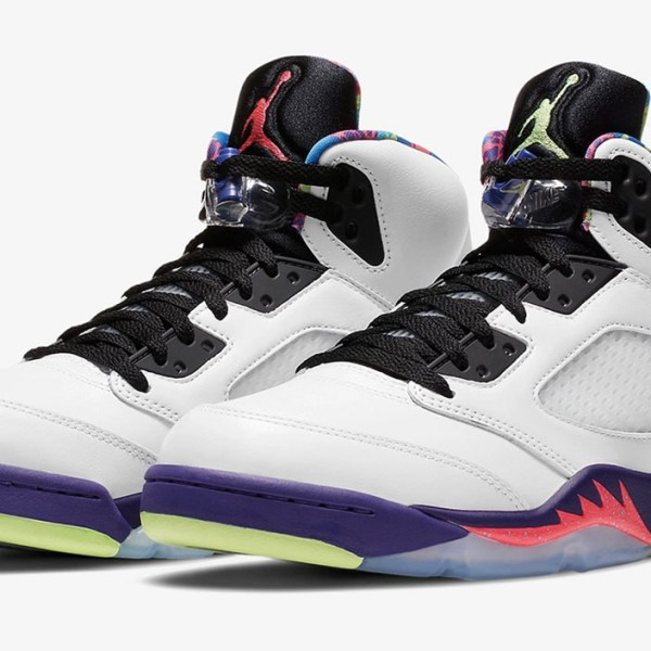 "Nike drops the mismatched Air Jordan 5 ""Bel-Air"" this week"