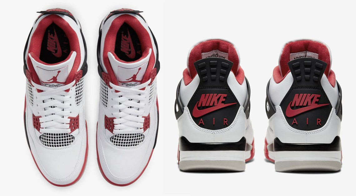 The Air Jordan 4 Fire Red Drops On November 28