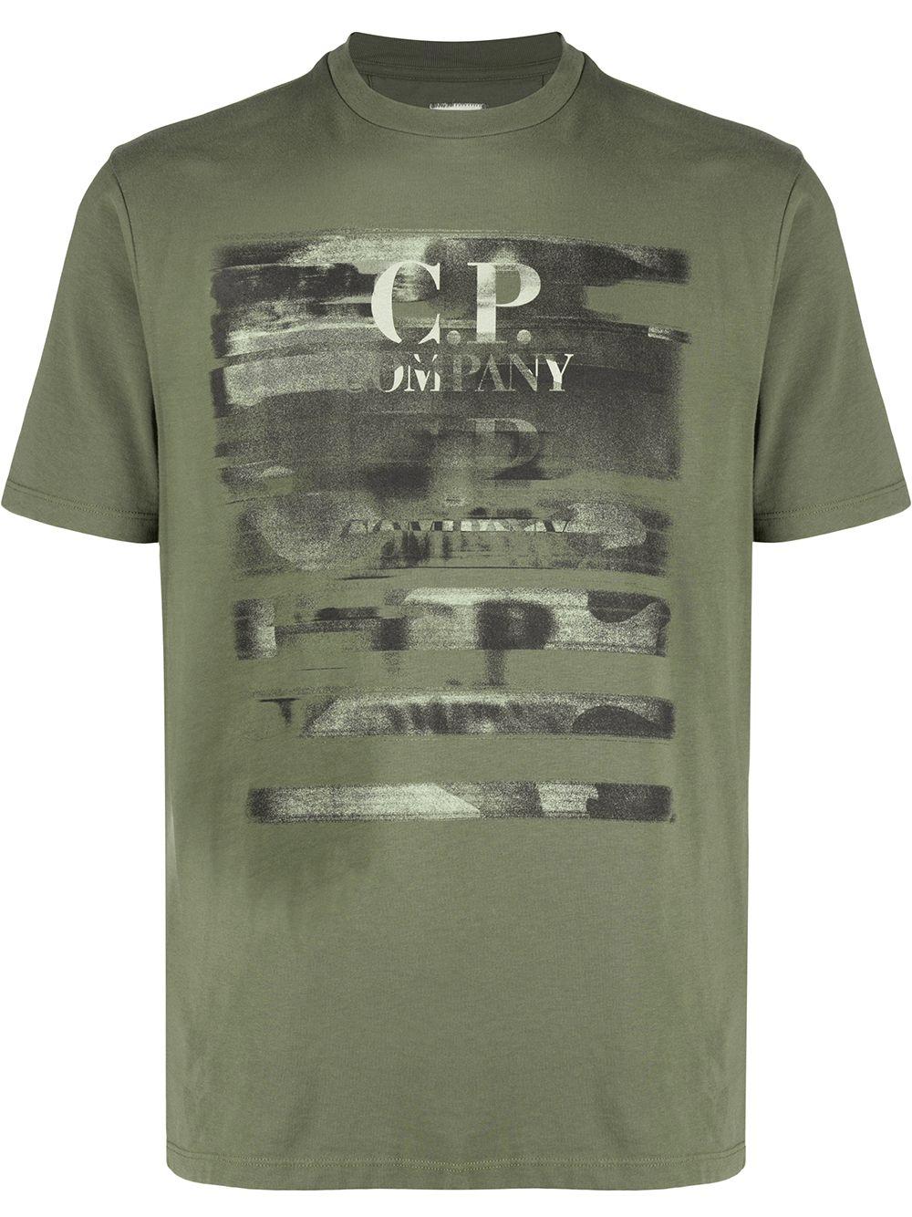 T-shirt CP COMPANY Kaki