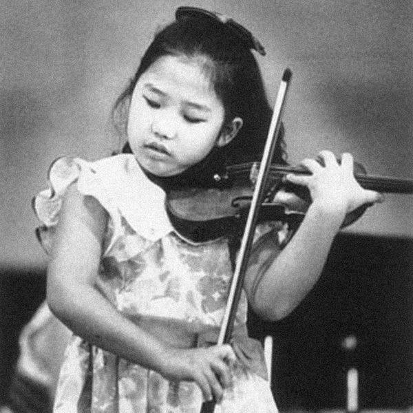 Sarah Chang as child