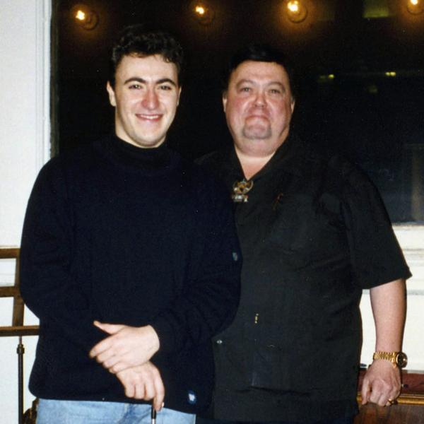 Maxim Vengerov with Geoffrey Fushi