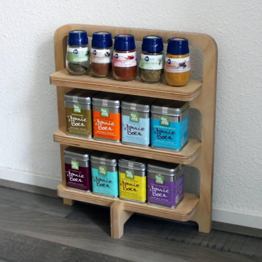 Kruidenrek - STRAEL Productontwerp en Meubelmaker Utrecht