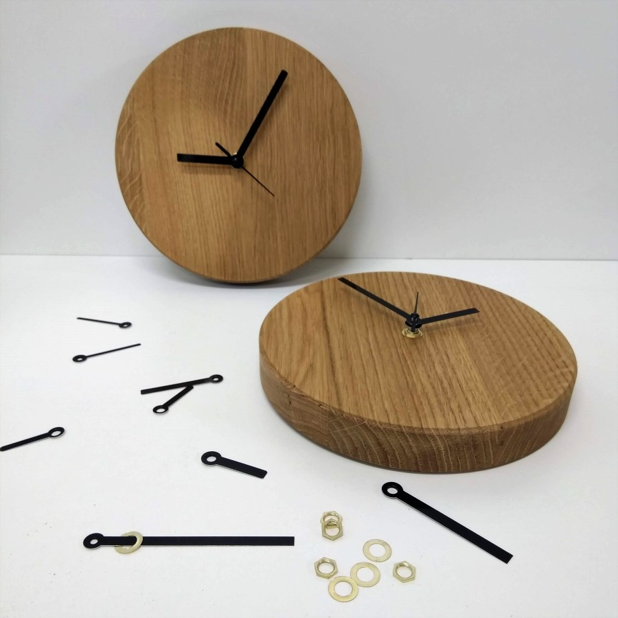 Eiken klok - STRAEL Productontwerp Utrecht