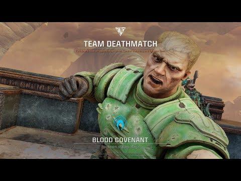 Quake Champions DOOM Slayer Gameplay Blood Covenant Latest Update Strafe Videos