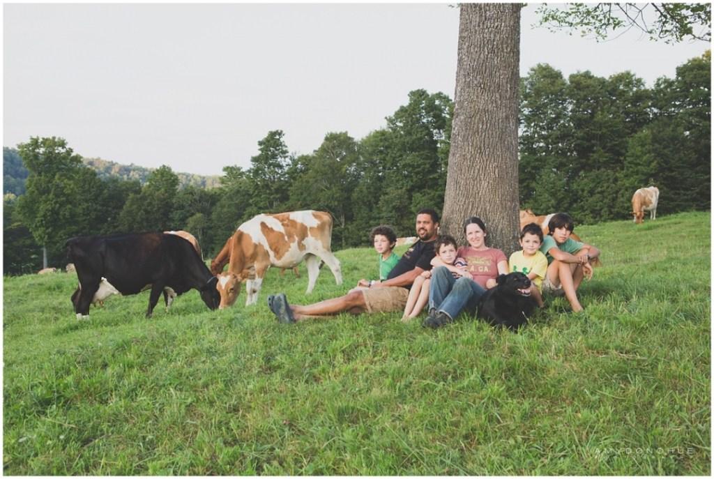 Strafford Organic Creamery Family