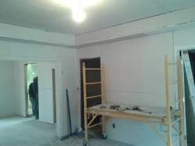 Rogers House Drywall 1