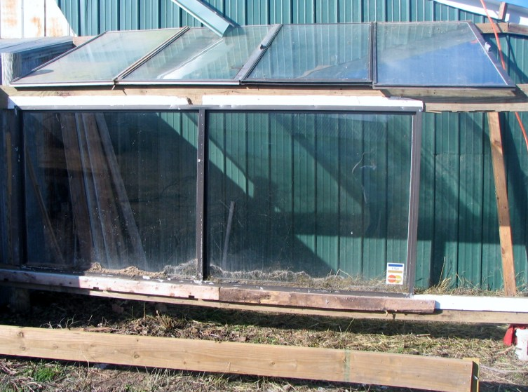 Start of the greenhouse 15