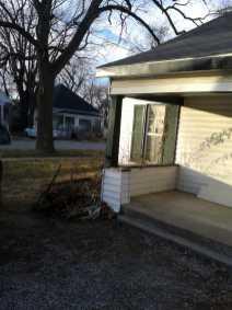 Outside of Rogers House 8