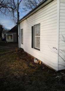 Outside of Rogers House 9