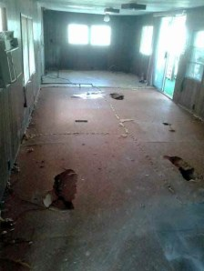 Workman Floor repair 5