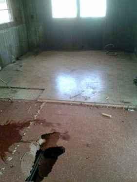 Workman Floor repair 7