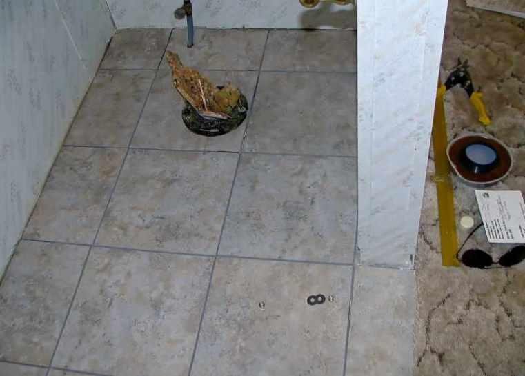 Bathroom Repair Before 4