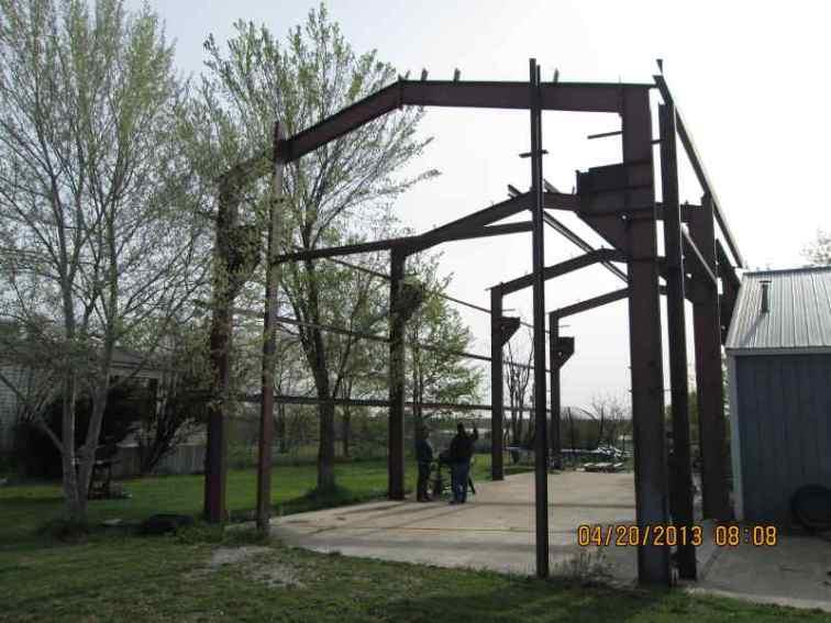 Moving Metal Building 1