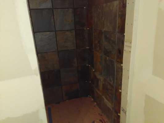 Slate Bathroom Remodel 16