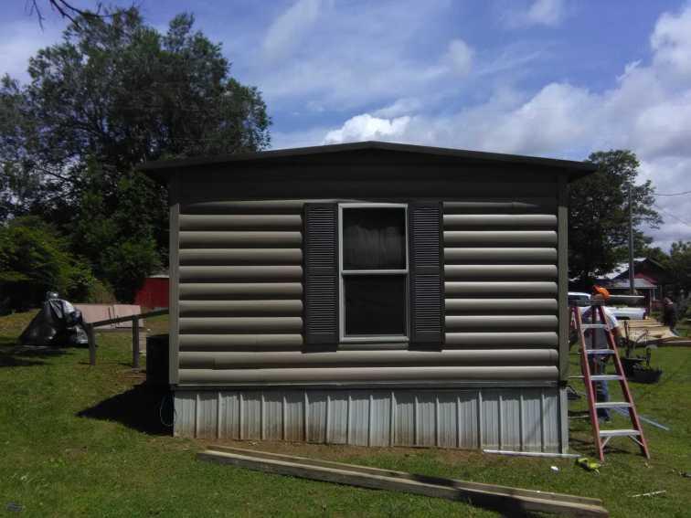 Log Cabin Siding 25