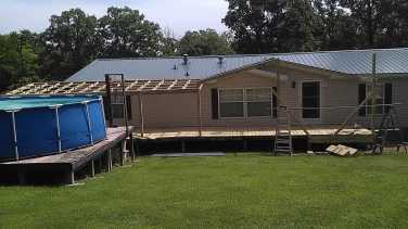 Metal Roof Addition 15