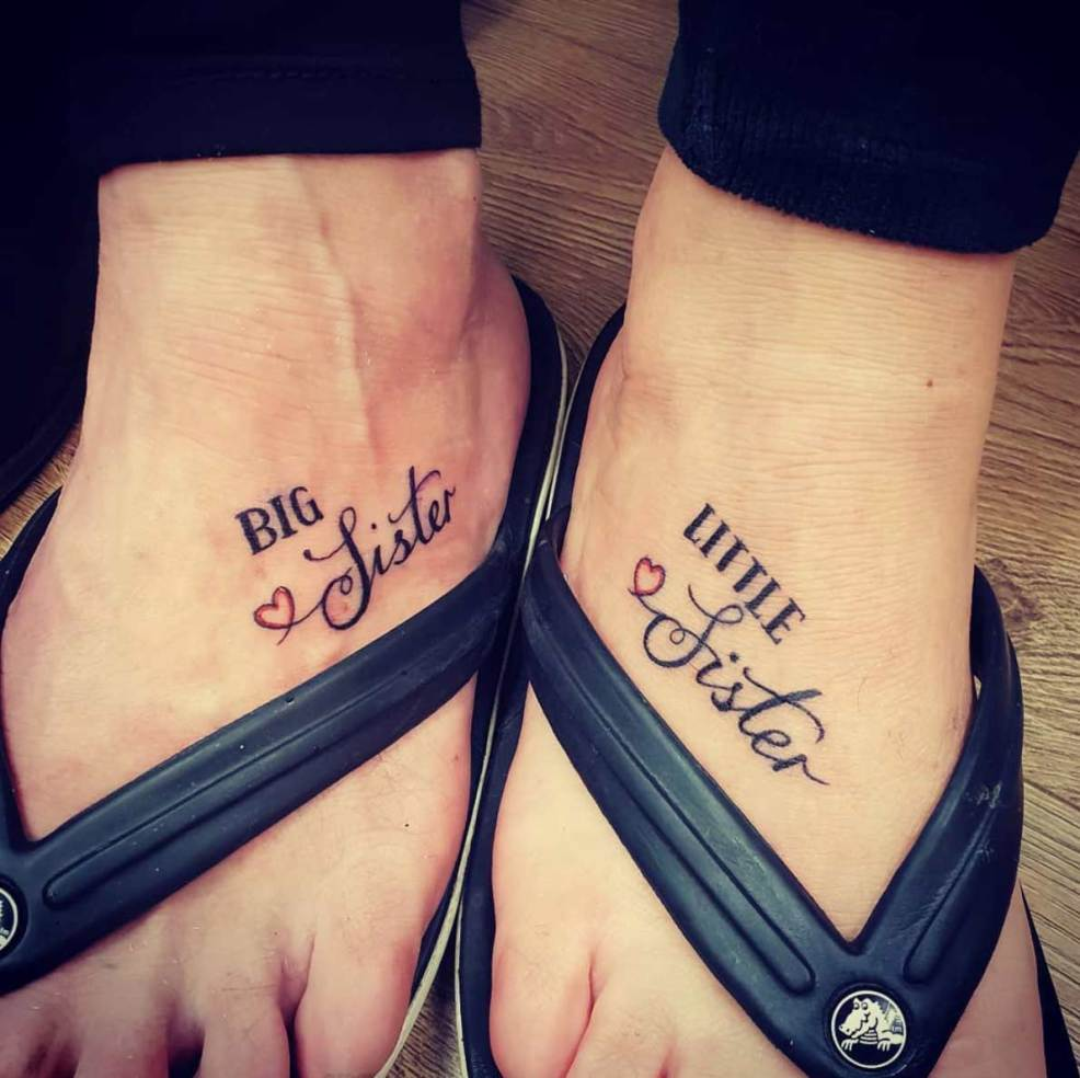 80 Sister Tattoos That Will Melt Your Friggin Heart Straight Blasted