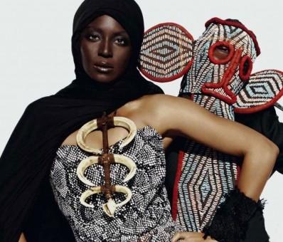 African stylist Jenke Ahmed