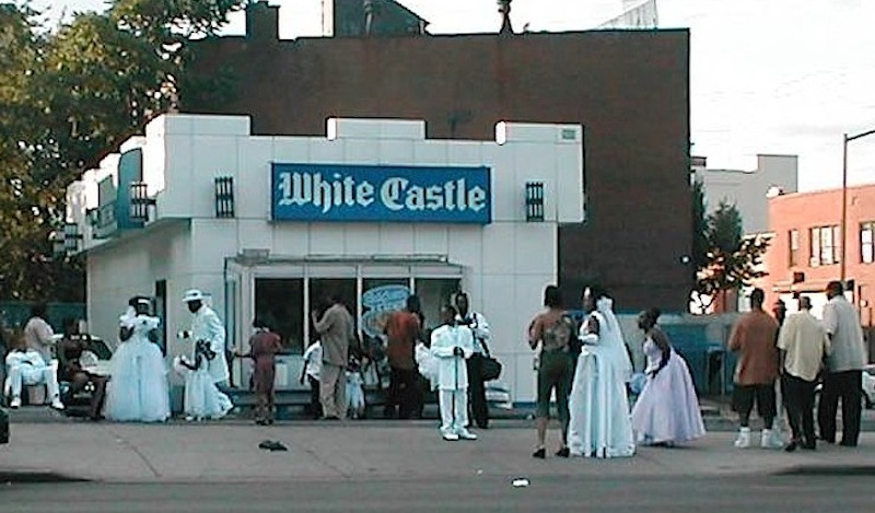 White Castle Wedding Straight From The A SFTA