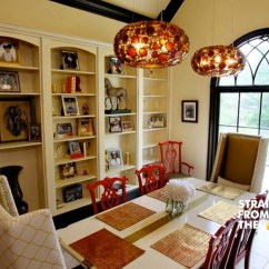 Tiger Print Dining Chairs Red Tulip Chair A Peek Inside Kandi Burruss' Atlanta Home… [photos] - Straight From The [sfta] – ...