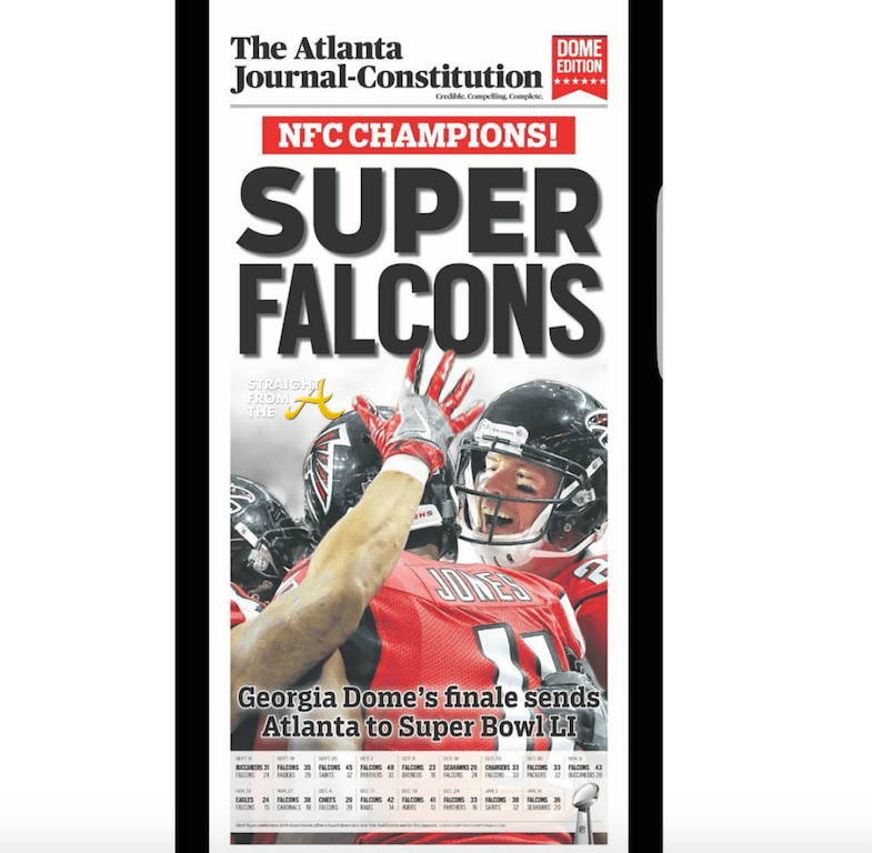 Super Bowl Bound! Atlanta Falcons Win NFC Championship... #RiseUp