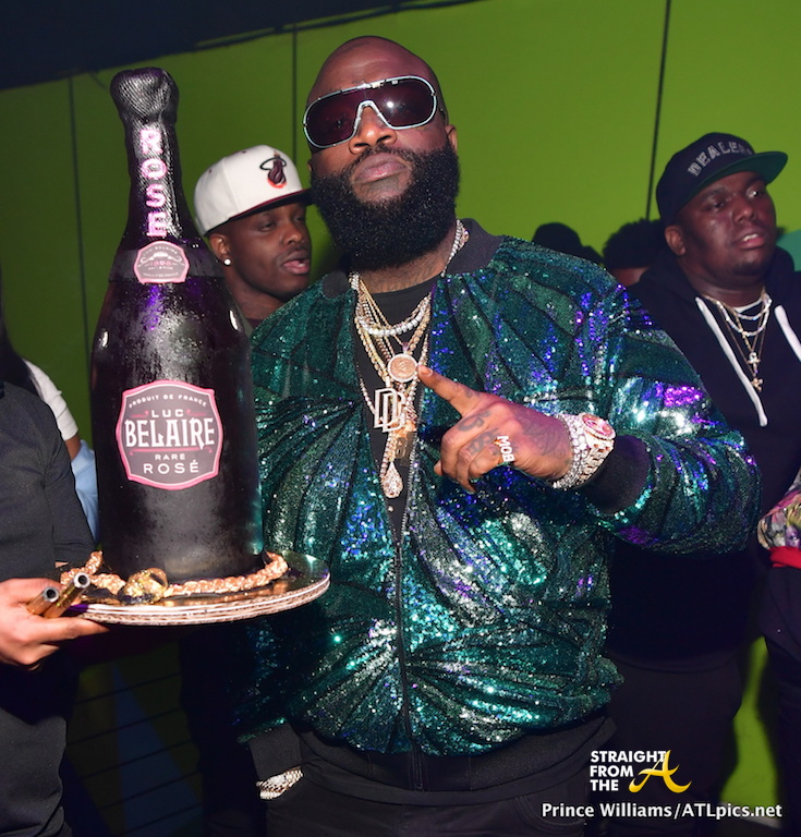 Club Shots: Meek Mill, 21 Savage, Karlie Redd Attend Rick Ross' Birthday Celebration... (PHOTOS)