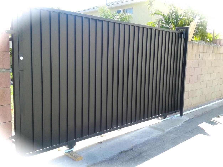Vinyl Driveway Gate Sliding