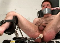 Young Dr. Rob get machine fucked and rinsed with an enema
