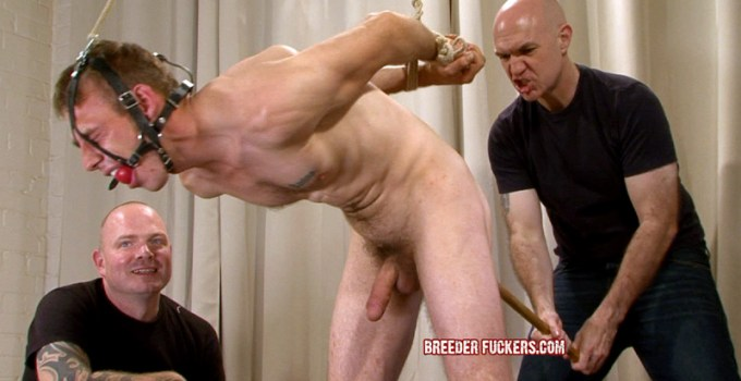 Exclusive Trailer: Hung Chav Lee Gets Roped and Fucked Deep!