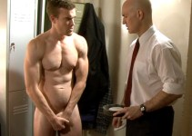 CMNM Bonus: Male Model Wannabe Nick Gets Stripped and Creeped On