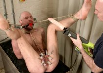 Drew Dixon Screams Through Agonizing Caning and CBT